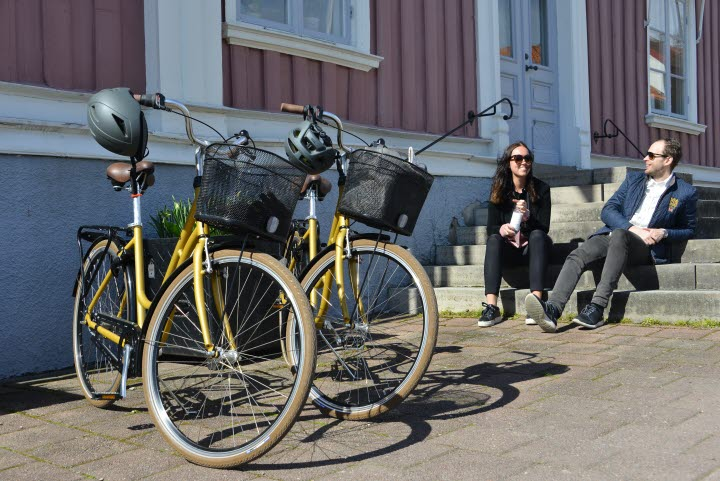cykel, rådhuset