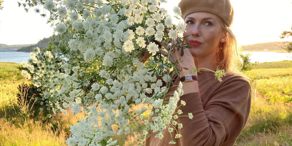 """Emily Bratt - Grundare och trädgårdsmästare på """"En annan slags trädgård""""."""