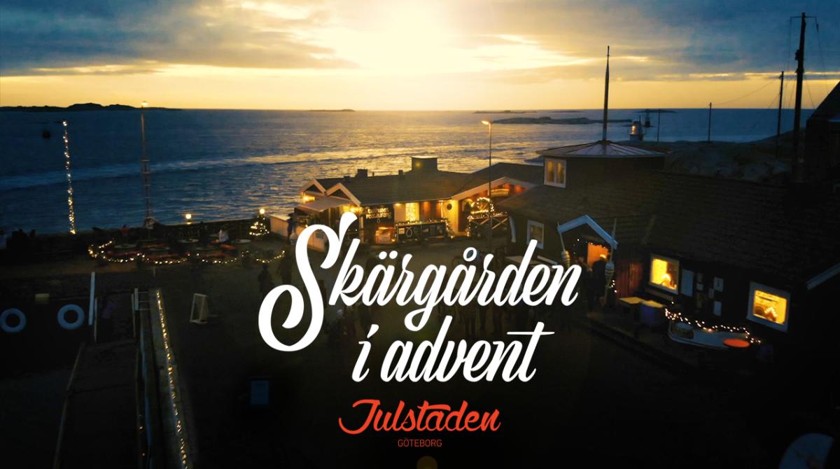 Skärgården i Advent, banner