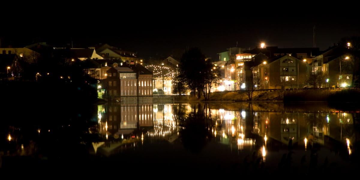 Julbelyst Strömstad