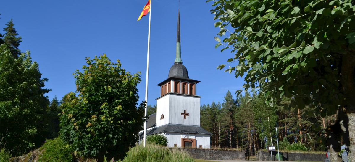 Krokstrand kyrka.