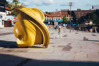 Sculpture- Photo Cred Faramarz