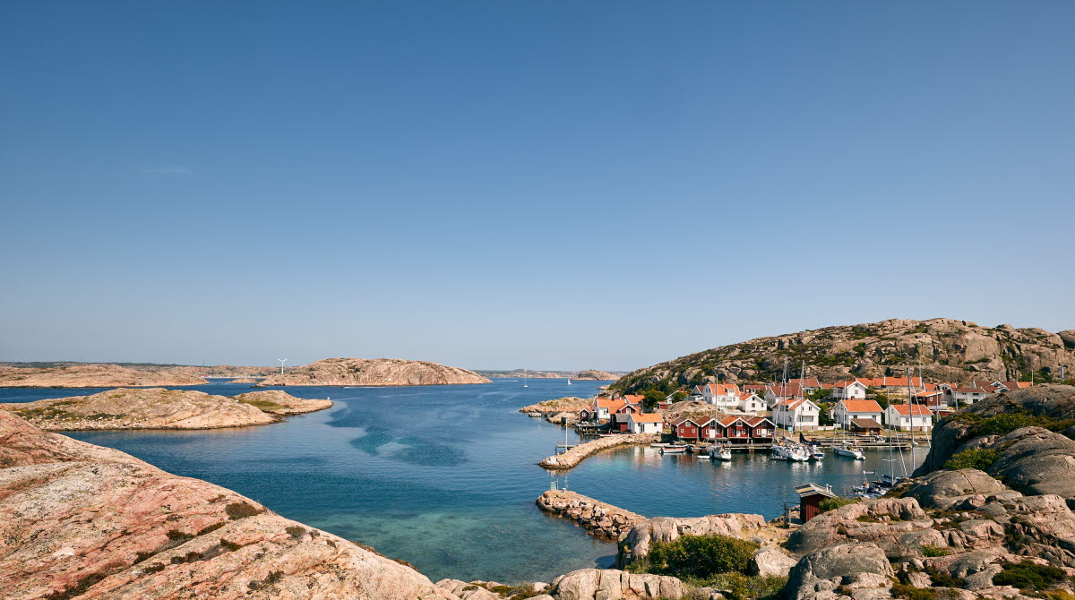 Summer in the archipelago of Bohuslän