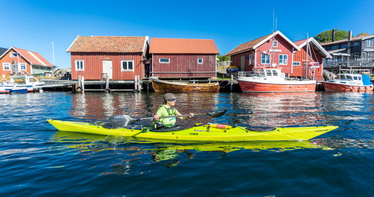 Kayaking in Bohuslän