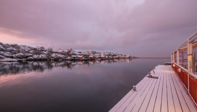 Winter in the archipelago of Bohuslän