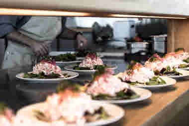 Shrimp sandwich Photo Cred Robert Dahlberg