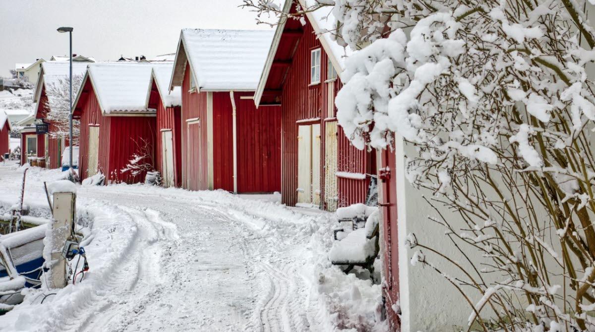 Julstämning i Björkö Hamn