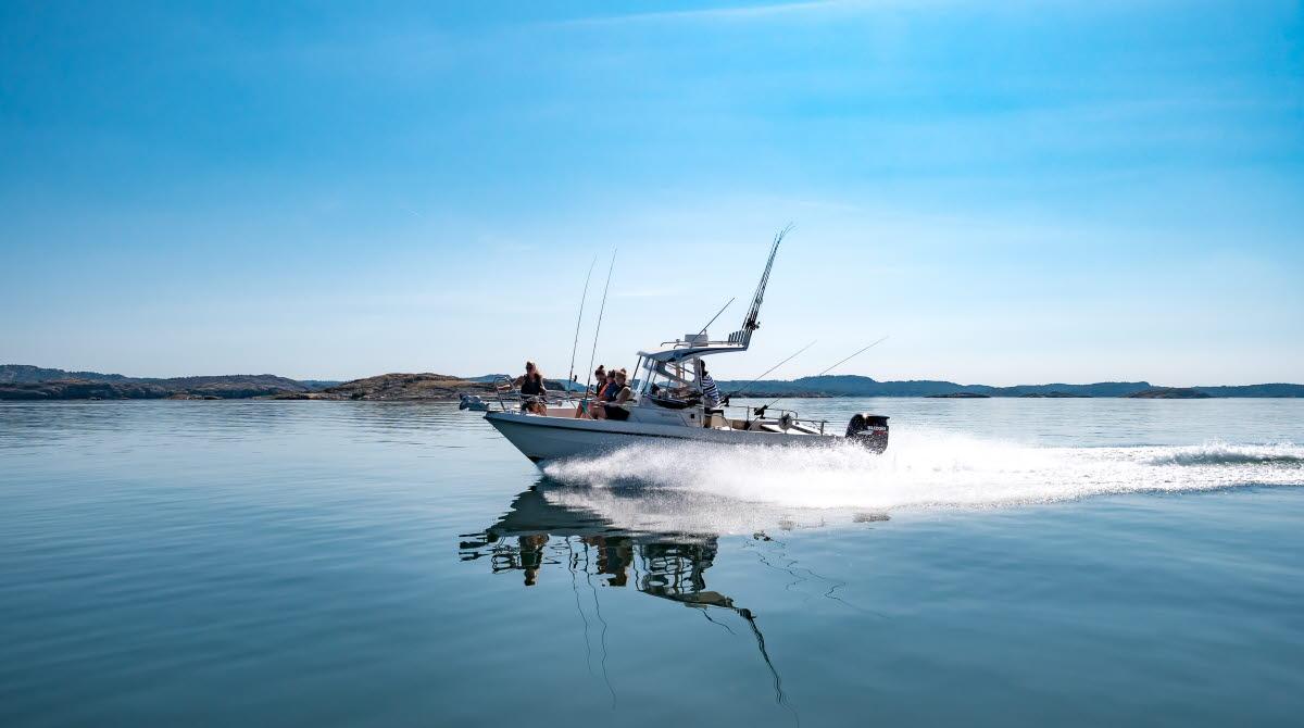 fiske båttur