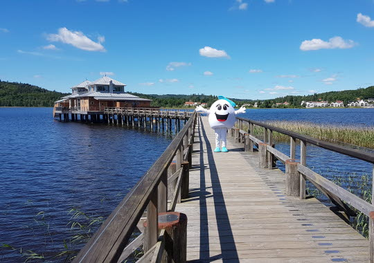 Pärlan på Kallbadhuset i Ulricehamn!