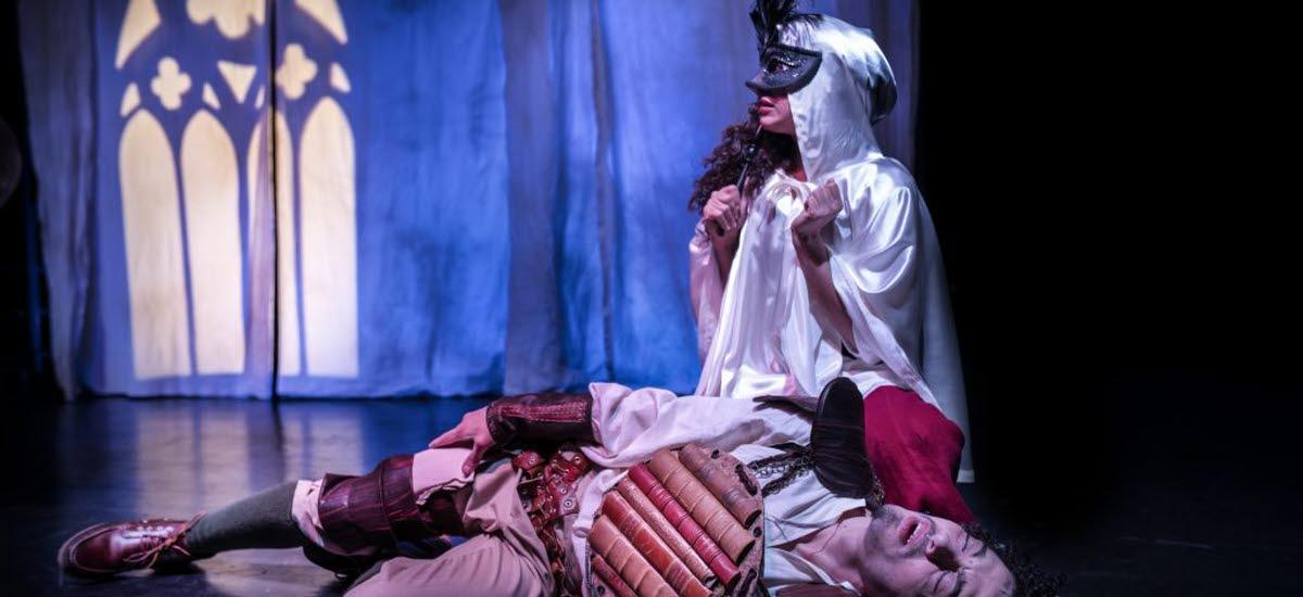Från föreställningen Don Quixote