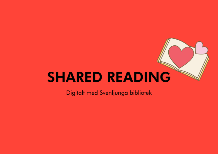 Digital läsecirkel: Shared reading