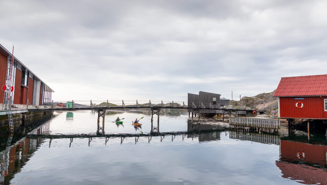 Kajak i Skärhamn