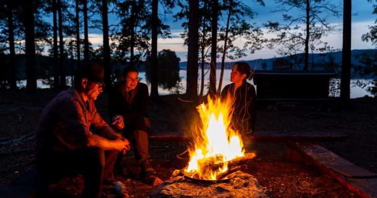Lägerplats i Dalsland