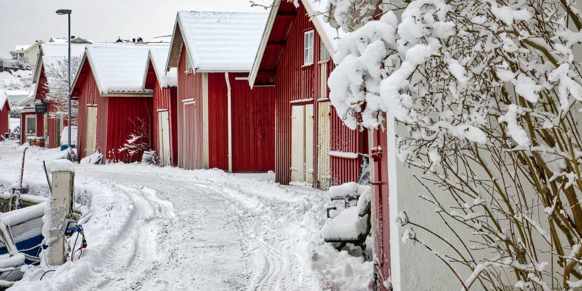 Björkö sjöbodar Göteborgs skärgård