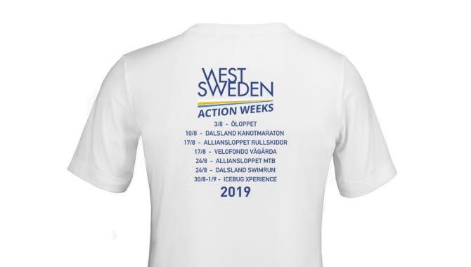 West Sweden Action Weeks T-SHIRT