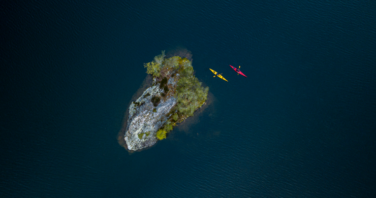 Paddle in the lakes of Dalsland
