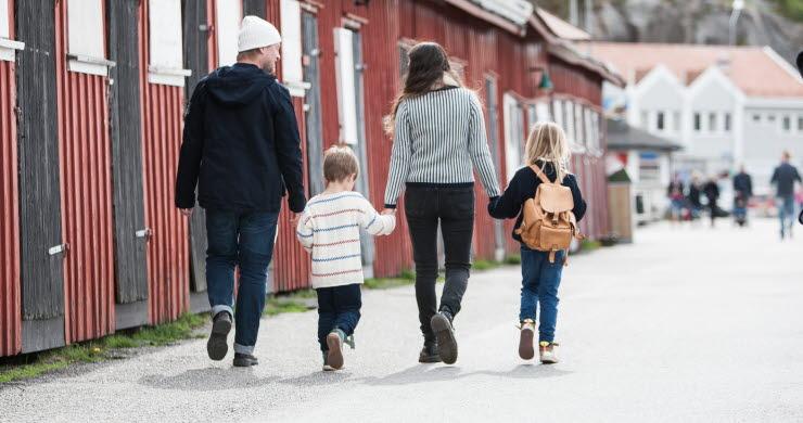 Familj i Strömstad
