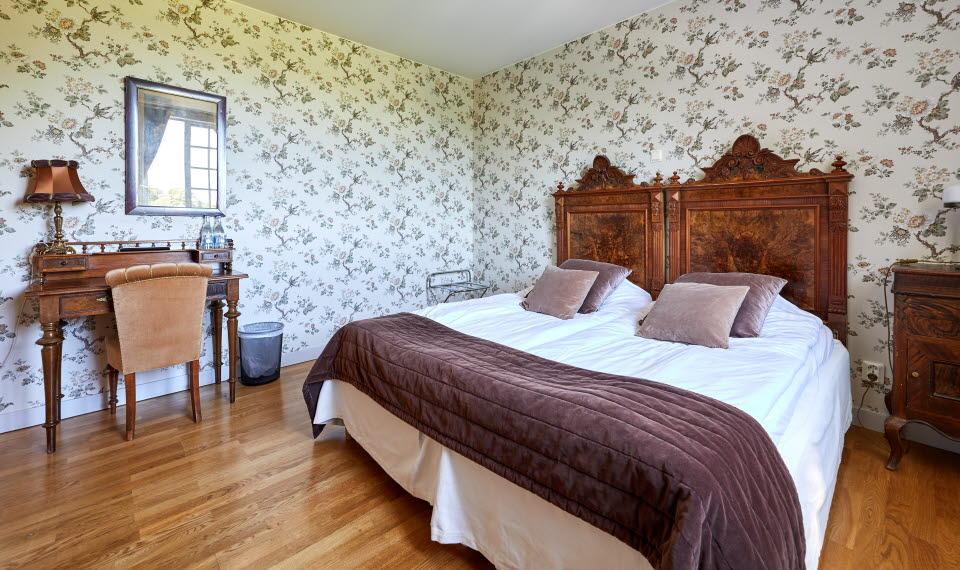 Hotellrum på Baldersnäs Herrgård i Dalsland