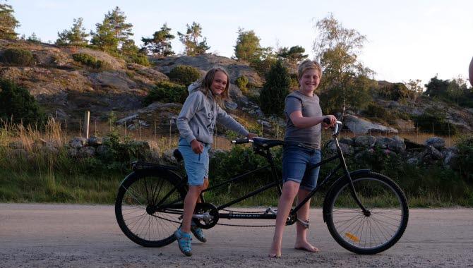 Tandem at Kostergården.
