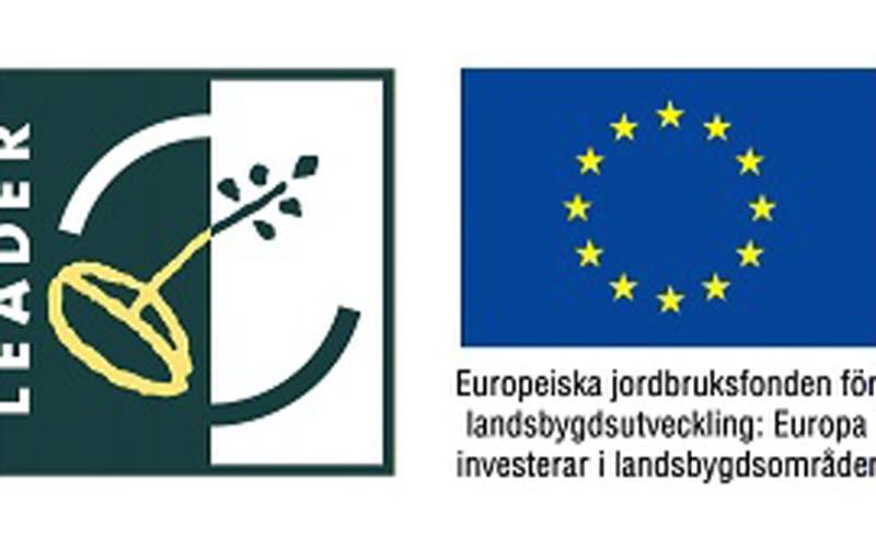 Leaderlogo samt EU-logga