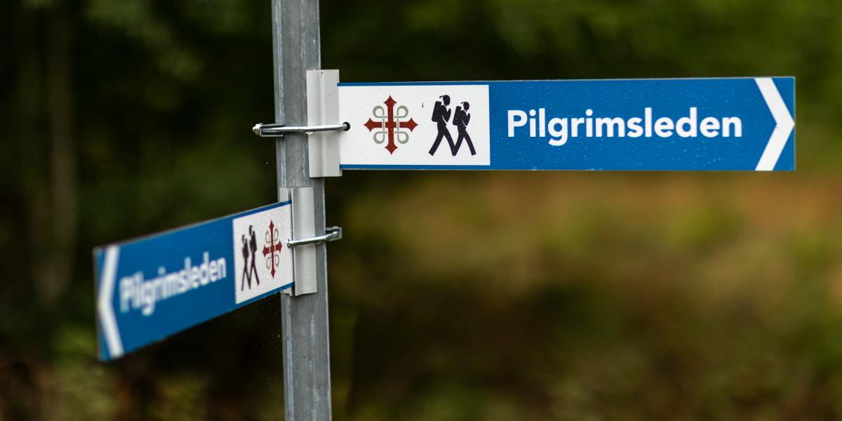 Vandringsskylt i Dalsland