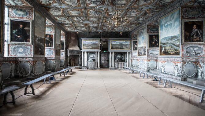 Vackert dekorerat rum