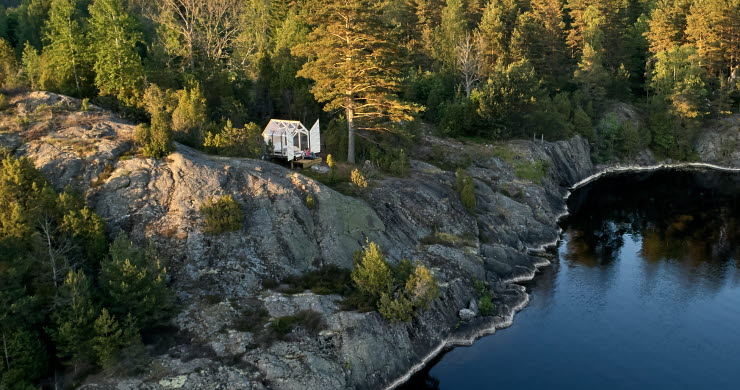 Glass house in Dalsland