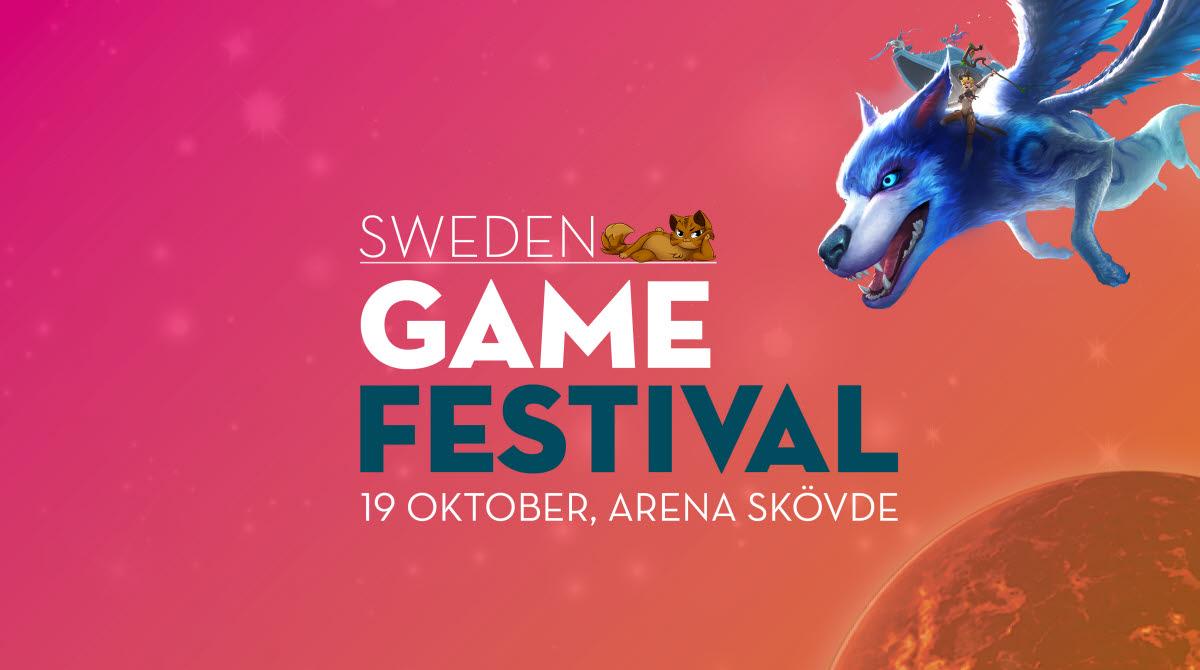 Sweden Game Festival 2019 i Arena Skövde den 19 oktober.